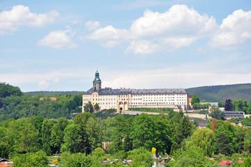 Rudolstadt mit Schloss Heidecksburg