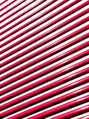 Red blinds