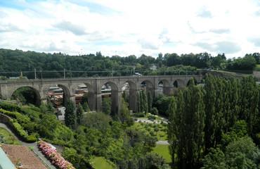 Passerelle Bridge (Viaduct), Luxembourg City, Luxembourg