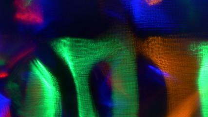 Video background of flashing lights. 4K UHD 2160p footage