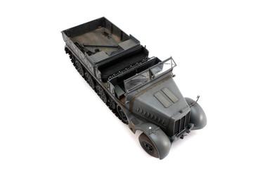 18-ton German half-track model