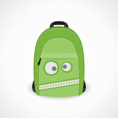 backpack with a wicked snout