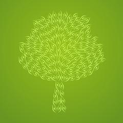 tree pattern monochrome