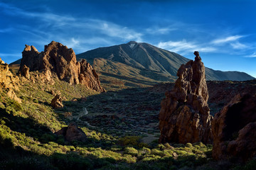 Teide National Park  from Tenerife,  Canary Islands, Spain