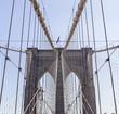canvas print picture - New York - BrooklynBridge
