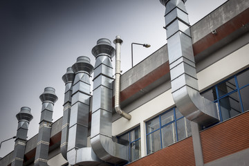 industrial metallic chimneys