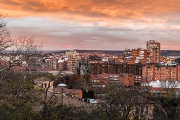 Valladolid atardecer