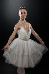 Gorgeous Ballerina In Action