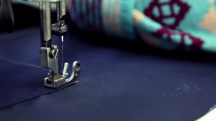 sewing workshop, sewing clothes, close up 1