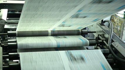 print the latest news in printing house, Kiev, Ukraine 3