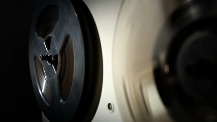 analog reel tape recorder, local lighting 3