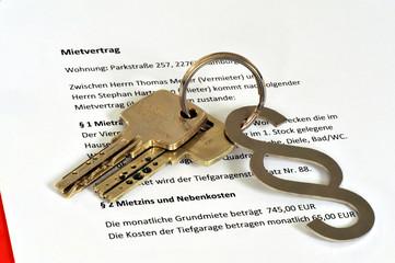 Mietvertrag, Vermieter, Mieter, Mietrecht, Betriebskosten