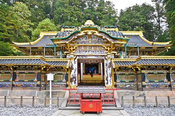 Rinno-ji Buddhist temple. Nikko, Japan.