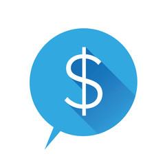 Money vector icon - US dollar sign