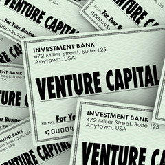 Venture Capital Words Check Money New Company Business Investmen