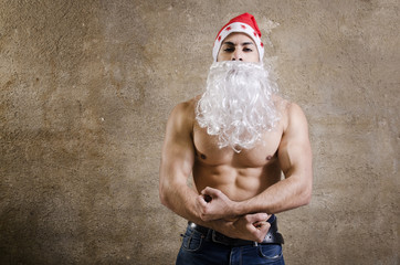 Fitness Santa Claus