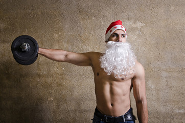 santa and the shoulders exercises