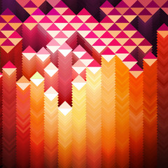 Vibrant Geometric Background