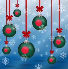 Christmas background flags Bangladesh