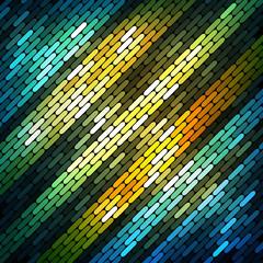 Colorful shiny mosaic background,