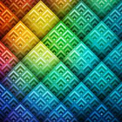 Colorful shiny geometric background