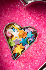 Heart Shape Filled with Candy