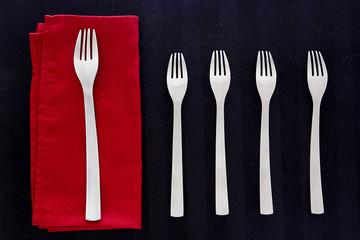 Set canteens forks