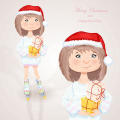 Christmas character.
