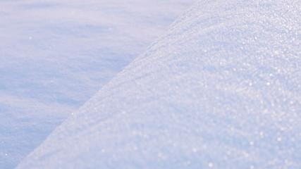Tube under snow