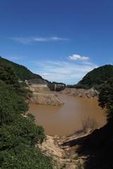 水不足のダム