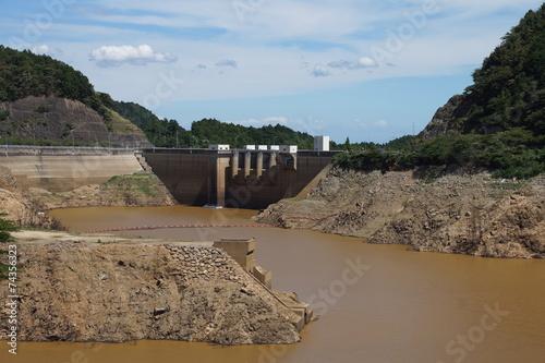 Aluminium Dam 水不足のダム