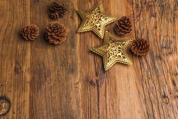 木材ベースの飾り