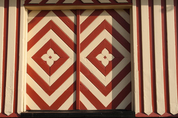 Handmade decorative wooden door Denmark