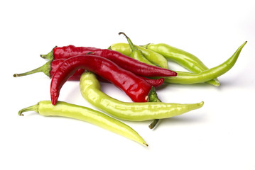 Red Ans Green Hot Pepper