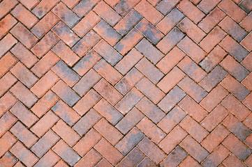 Colorful mosaic pavement