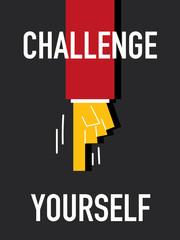Word CHALLENGE YOURSELF