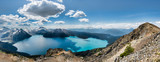Panorama of Garibaldi lake from Ridge - 74361305
