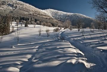 Lysa hora hill from Butoranka