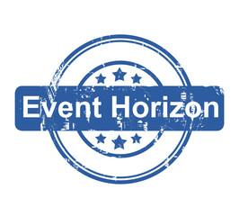 Event Horizon business concept stamp