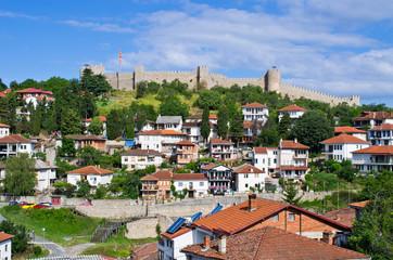 Ohrid town in Macedonia