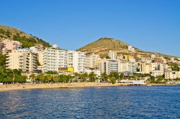 Saranda city - summer resort, Albania