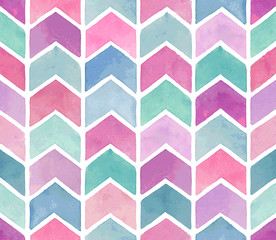 Seamless watercolor pattern. © lumencre
