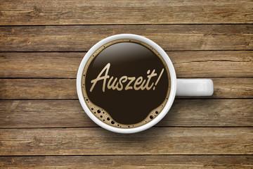 Kaffeetasse mit Auszeit!