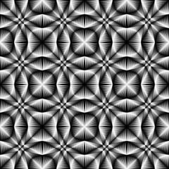 Design seamless monochrome trellised pattern