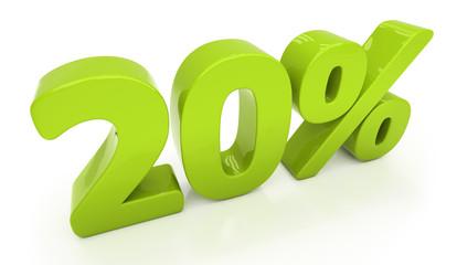 3D twenty percent