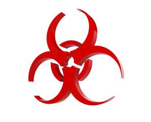 virus logo on a white background