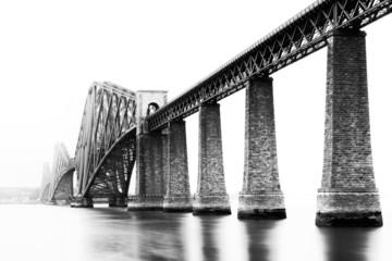 Firth of Forth Bridge in South Queensferry, Edinburgh, Scotland