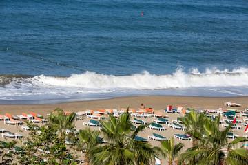 Alanya - the beach of Cleopatra .Turkey