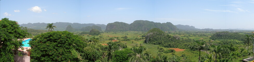 Vinales Valley Cuba Panorama
