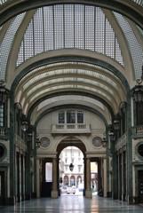 shopping arcade in Turin